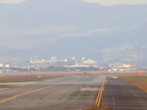 大阪空港滑走路1