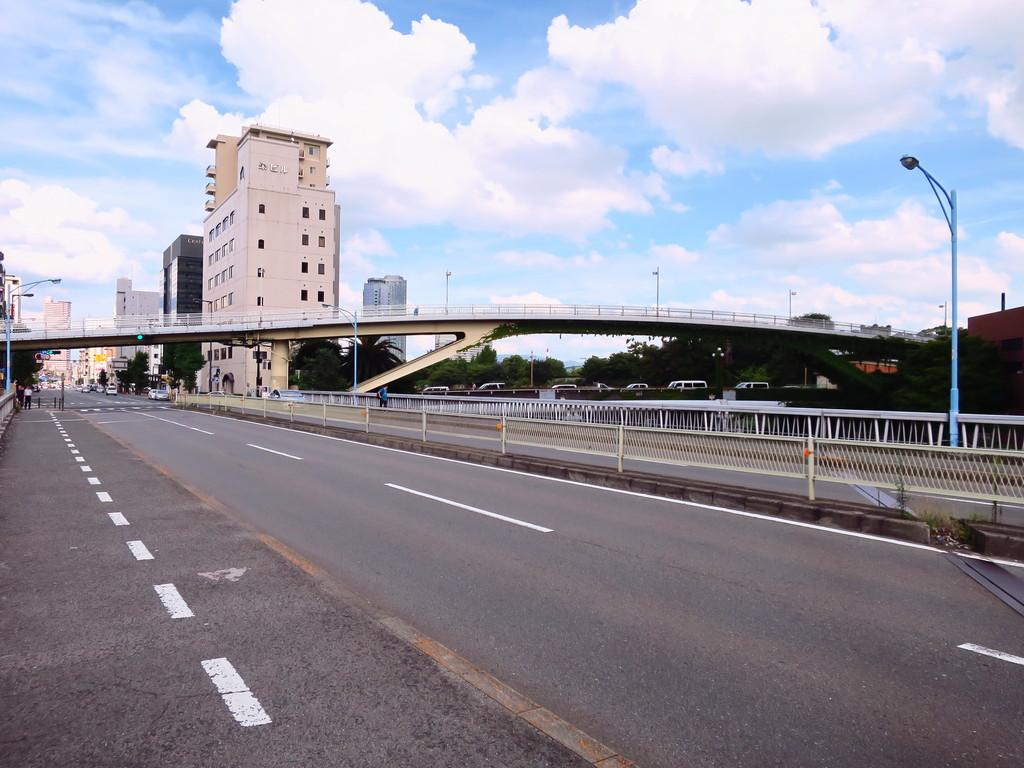 何となく、中之島から大阪城公園...