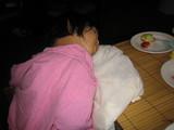20070830ランチブュッフェで爆睡