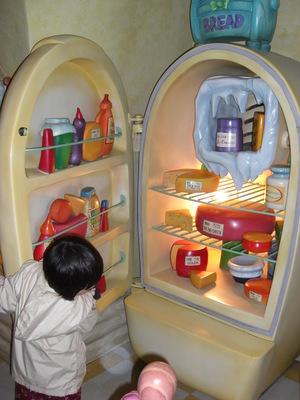 ミニーの冷蔵庫