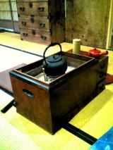 万太郎 火鉢
