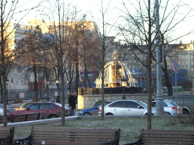 ロシア噴水