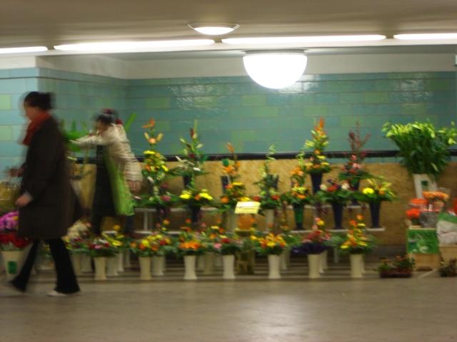 駅のお花屋さん