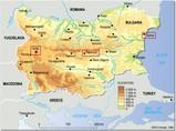 ブルガリアマップ