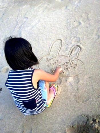砂に描いたビンキー