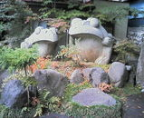 研温泉宿入り口