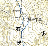 槍平小屋map