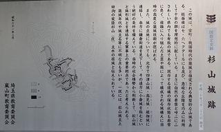 s-27杉山城跡解説