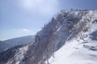 s-22-天狗岳東壁の 尾根・上P2211486