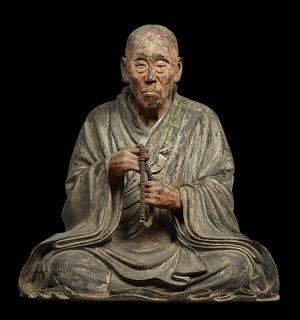 s-09国宝重源上人坐像・13世紀・奈良・東大寺蔵