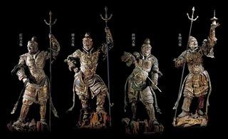s-06国宝四天王立像・13世紀・奈良・興福寺蔵
