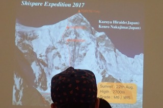 s-82 シスパーレ2017南西壁初登頂・登攀ルート