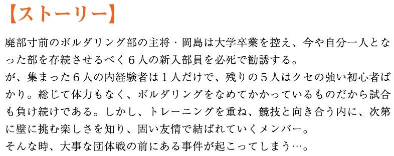 映画『ラスト・ホールド!』ストーリー