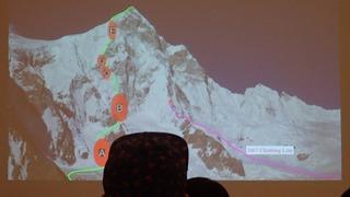 s-61 シスパーレ2017南西壁初登頂ルート解説