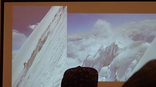 s-78 シスパーレ2017南西壁初登頂・アタック開始8下降路が見えた