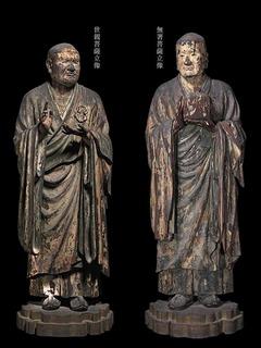 s-05国宝無著菩薩立像・世親菩薩立像・1212運慶作・奈良・興福寺蔵