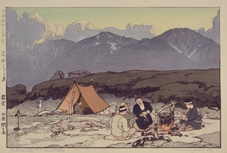 7章-露営 北岳間の岳