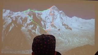 s-80 シスパーレ2017南西壁初登頂・登下降ルート