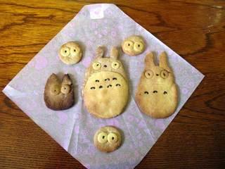 トトロのクッキー