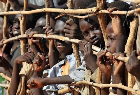 アフリカ難民