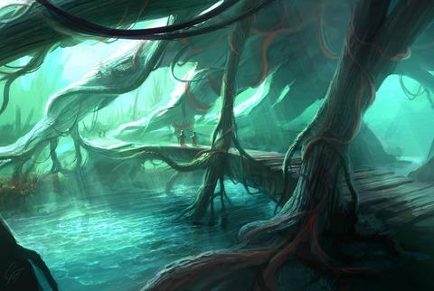 大樹の根1