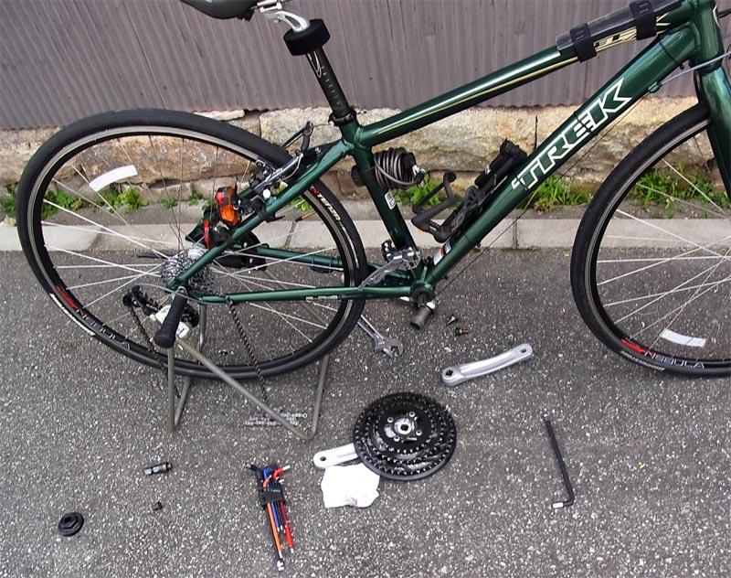 自転車】クランクセットを交換 ...