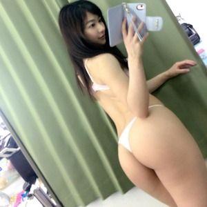 【リアルビッチ】巨乳に桃尻!めちゃシコボディ女子の自撮りエロス!