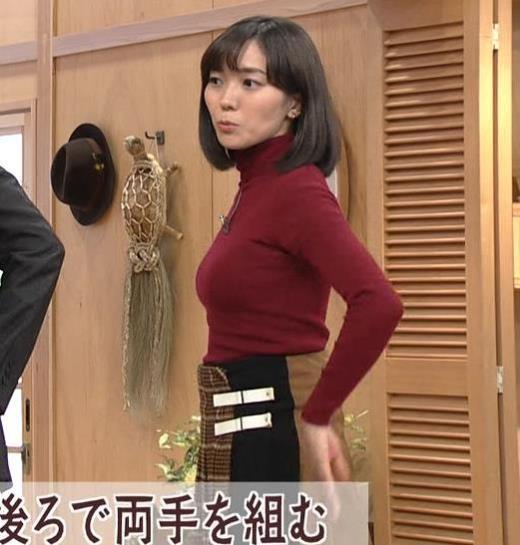 中村慶子アナ NHK巨乳穴のニット横乳がエロ過ぎる