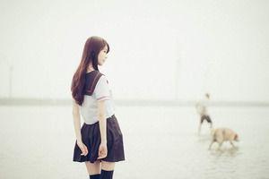 【ソックスLOVE】制服+黒ニーソ、黒ハイソなグっときたフェチ画像!