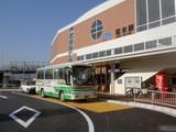 和木駅前の岩国市交バス