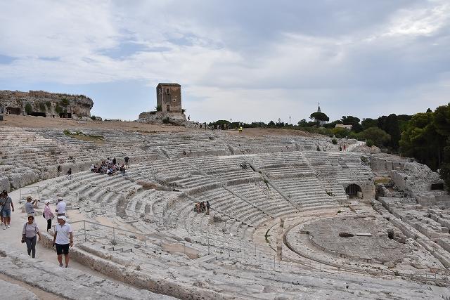 2017年イタリア・シチリア島旅行記 第33回 シラクーサのギリシャ劇場と ...