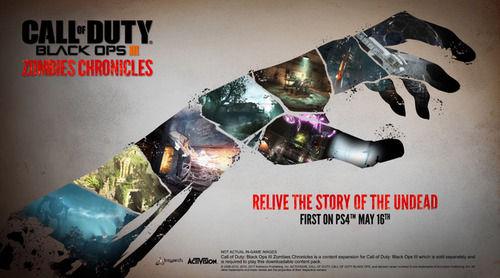 「コール オブ デューティ ブラックオプスIII」 拡張パック『Zombies Chronicles』 あの4人が帰還する海外最新トレイラー公開!