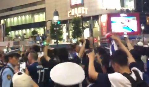 【悲報】サッカー・W杯で日本が勝利し、渋谷が痴漢で溢れてしまう