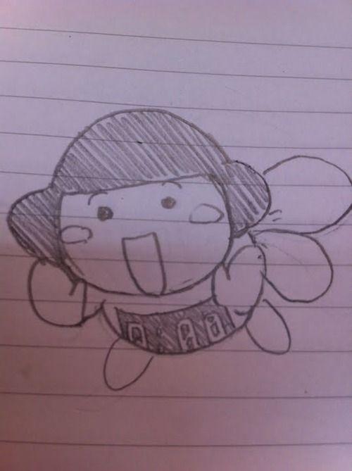 【画像】何も見ずに安価で冨樫の漫画のキャラを描くwwww