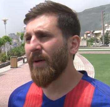 【画像】リオネル・メッシ(29歳)のそっくりさんイランで発見
