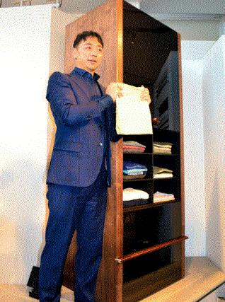 【ニュース】洗濯物自動折り畳み機・価格は185万円(税別)モデル公開