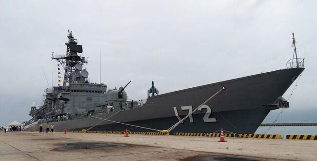 海自護衛艦「しまかぜ」が中国漁船に衝突され船体に1mの穴、こんな時まで嫌がらせかよ…