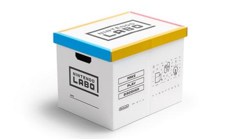 【悲報】任天堂、ラボを片付けるための箱を800円で売ってしまう