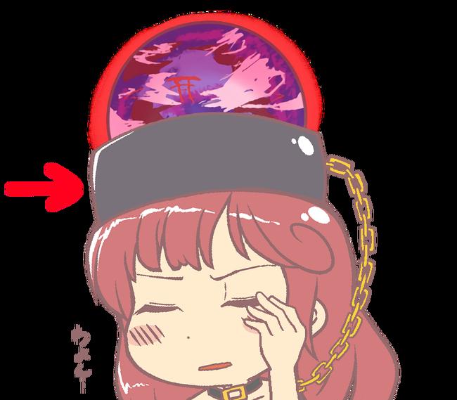 【東方】ヘカちゃんの頭のボールの下にあるこれってどんな材質なのかな