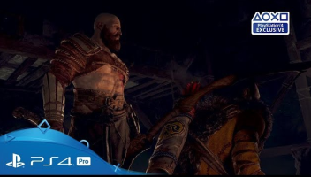 PS4「ゴッド・オブ・ウォー」 最新トレイラーが公開!息子との連携で敵を豪快にぶん投げるwwww
