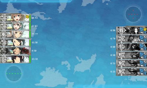 【艦これ】中部海域で一番面倒なのってやっぱ6-1? 他中部海域雑談