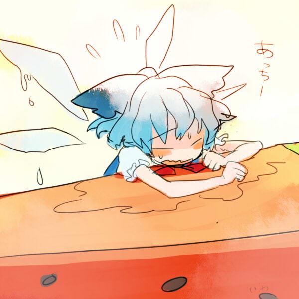 【東方】ちょっと気になったんだけど妖精の羽って実体として物理的に触ったりできる物なのかな?