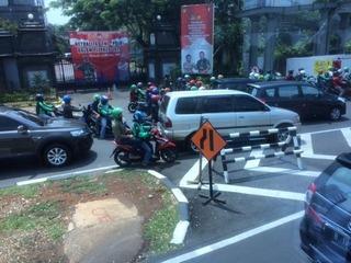 ジャカルタの街角�