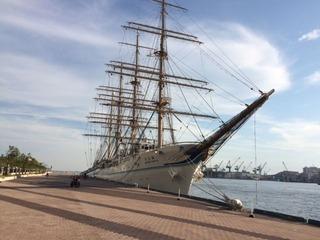 二代目海王丸 神戸港