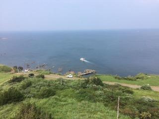 男鹿半島から日本海を臨む
