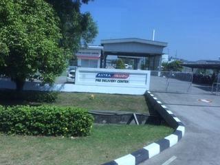 ジャカルタ近郊のスズキの工場