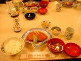金目鯛の煮付定食