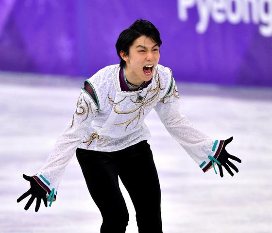 平昌オリンピックの羽生結弦選手