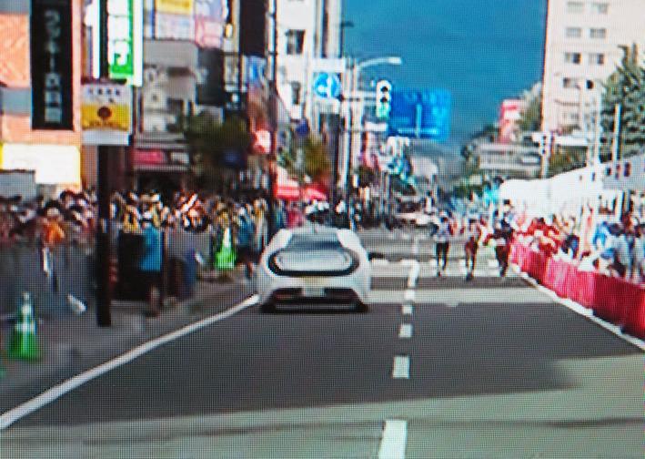 オリンピック電動車とオールドフェラーリ