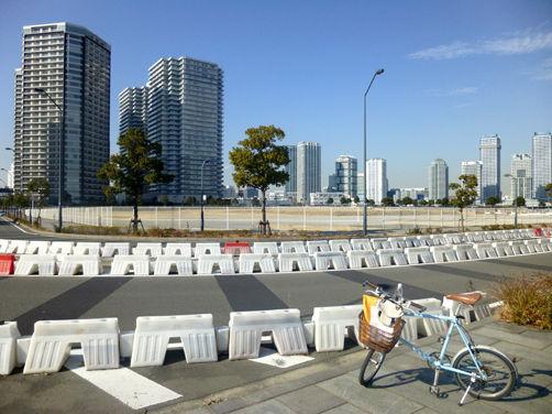 本日の横浜営業サイクリング/高層ビルに囲まれて~♪